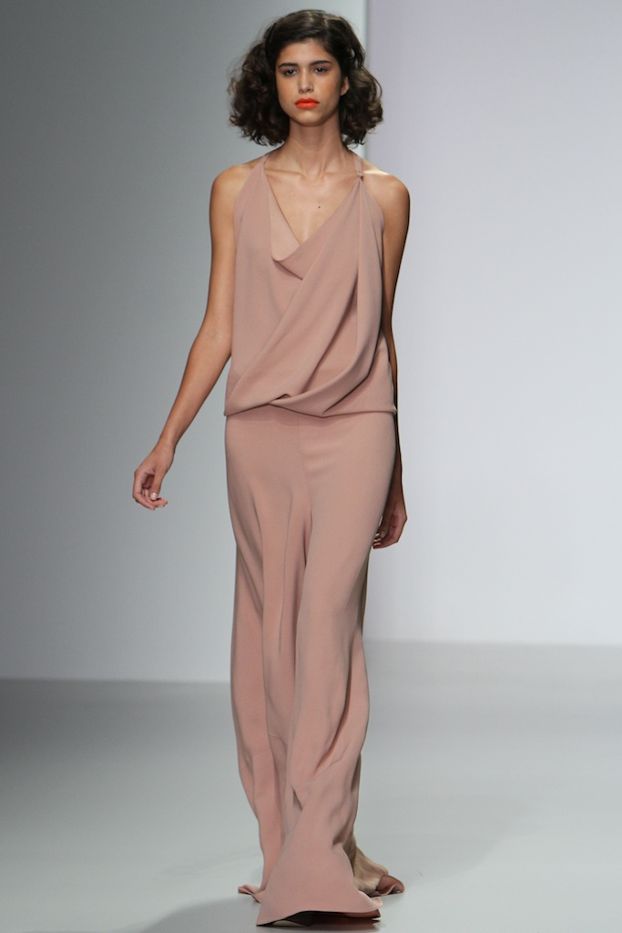 Plaster crepe impressionist skirt Jumpsuit