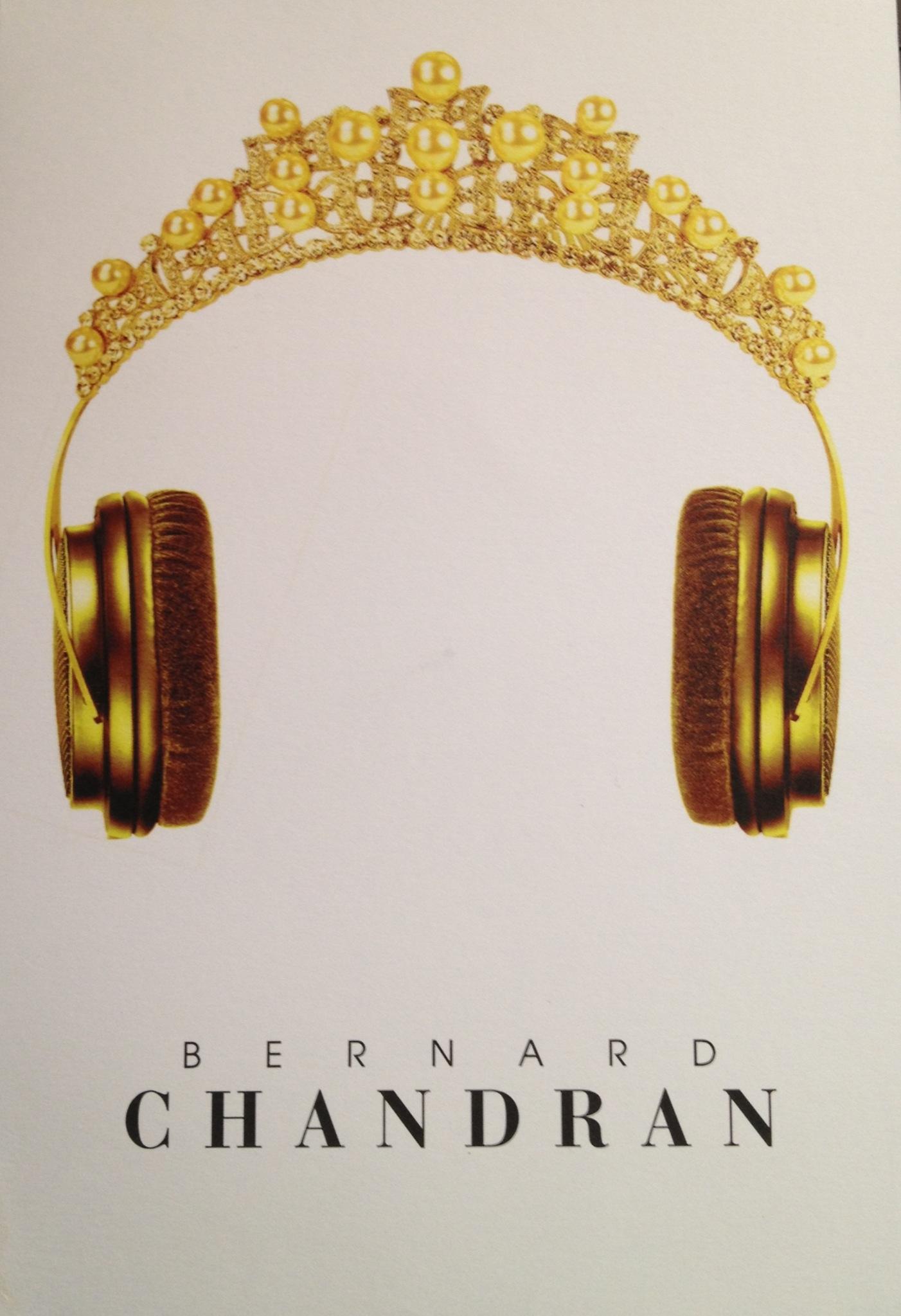 bernard chandran invitation for SS14