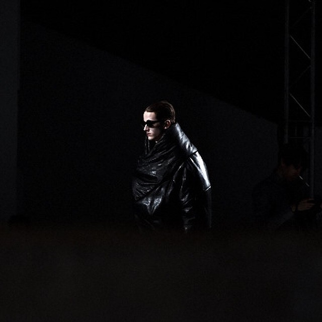 From #Julius #AW15 #fashion #menswear #collection at #pfw in #palaisdetokyo #paris #totemfashion #mysterious #look