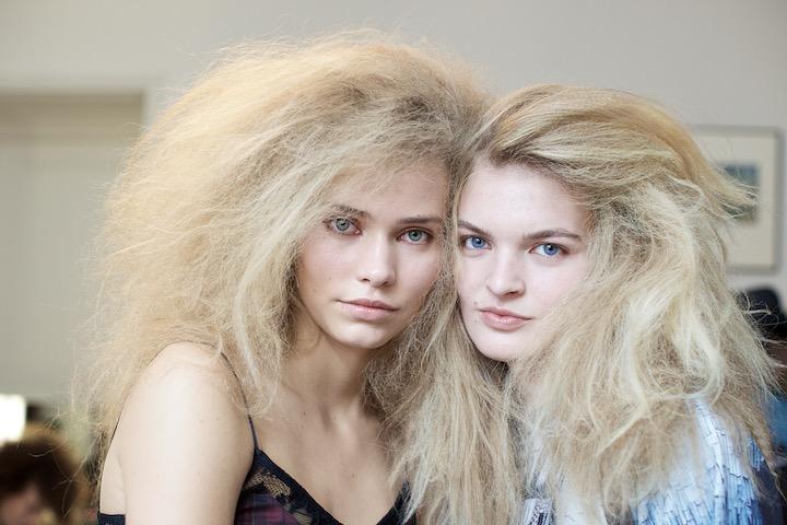 Models after hair is done, image credit akin abayomi