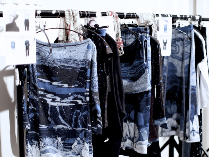 Wardrobe for the fashion show