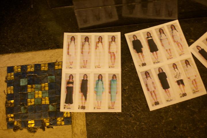models chart, looks and wardrobe