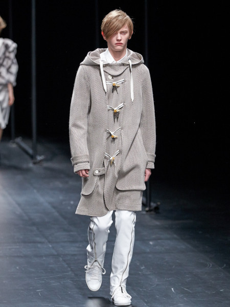 ,model wearing A degree Fahrenheit AW15-16 Collection during MBFWT, image by Akin Abayomi