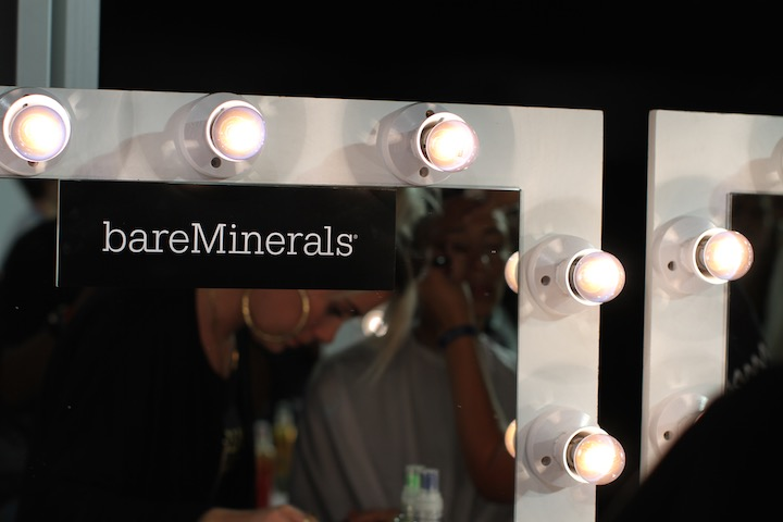 bare minerals at LFW SS14 Mark Fast show backstage , image credit Akin abayomi