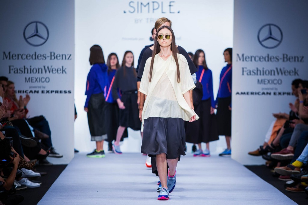 SIMPLE by TRISTA, MBFWM,Mexico Fashion Week