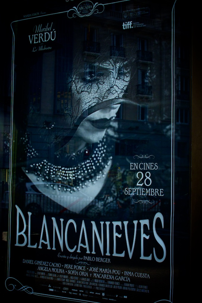 Blancanieves movie poster