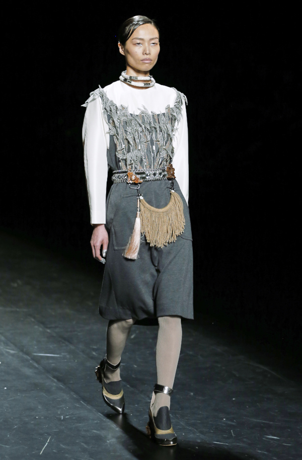 Toton Januar collection presented at MBFW Tokyo, image by Akin Abayomi for Livingfash media