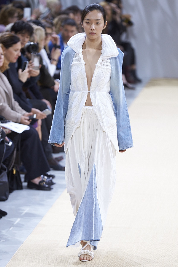 Allude SS16 Collection Presented at Paris Fashion Week image by Akin Abayomi. Livingfash media, livingfash.com