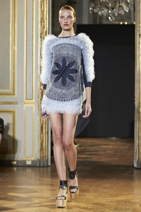Rahul Mishra SS16 collection Paris Fashion week. Image by Akin Abayomi