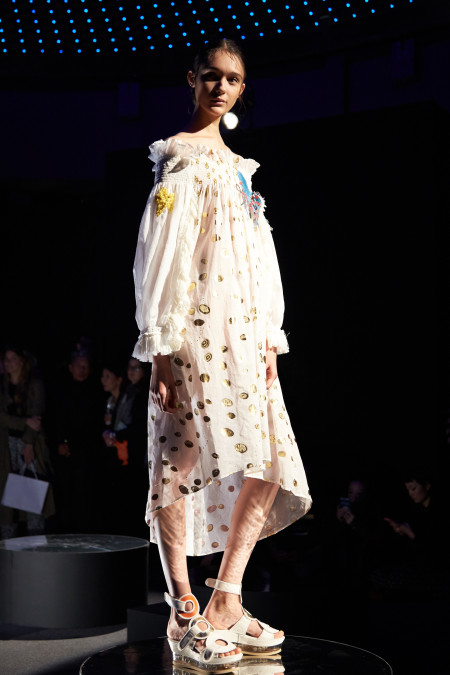 Tsumori Chisato SS16 Paris presentation, image for Livingfash media by ©Akin Abayomi