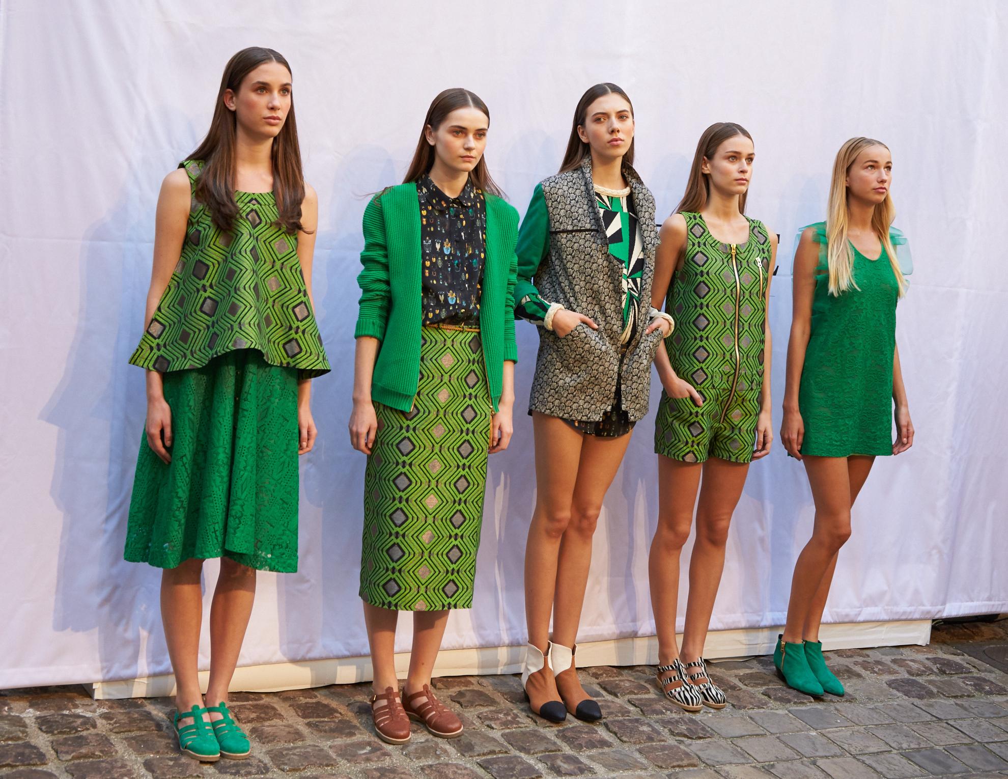 Alix Petit, Heimstone SS16 collection during Paris Fashion Week, image by ©Akin Abayomi