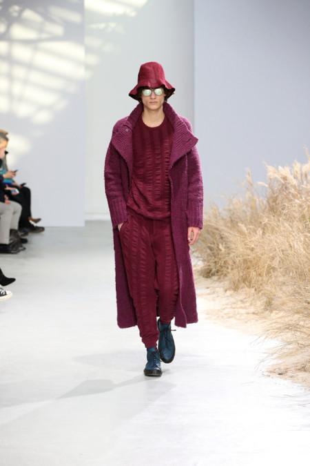 Issey Miyake AW 2016, Men Fashion, Paris Photo credit: Frédérique Dumoulin/ISSEY MIYAKE