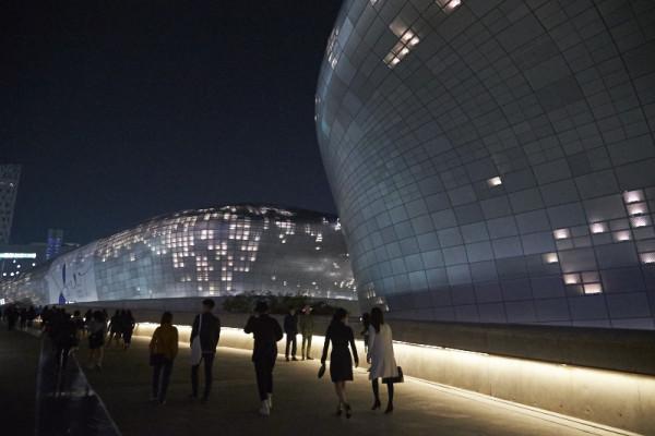 """Dongdaemum Design Plaza """"DDP"""", image credit Akin Abayomi/ Livingfash Media, Seoul Korea"""