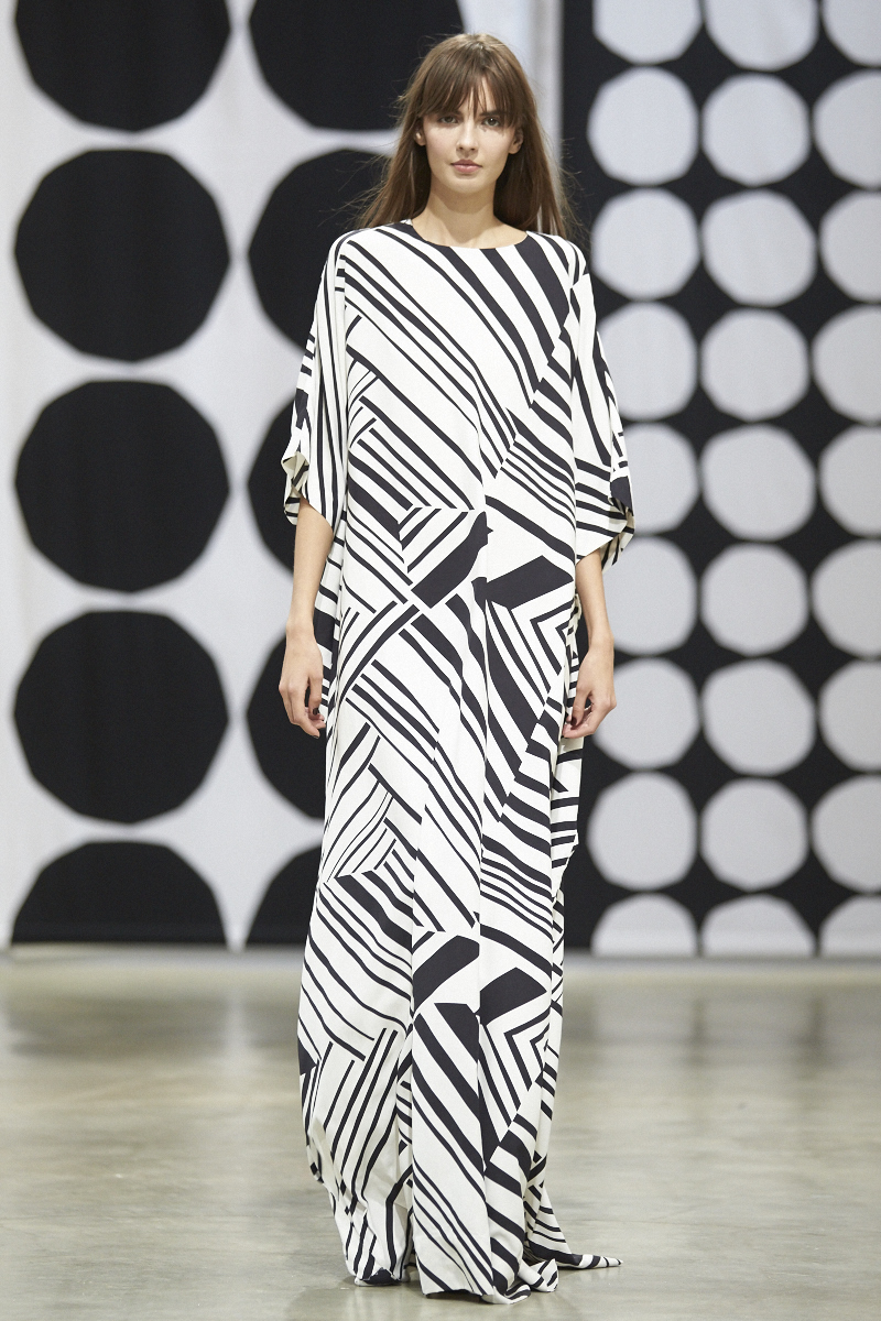Marimekko Spring/Summer 2016 collection at PFW image ©Akin Abayomi for Livingfash
