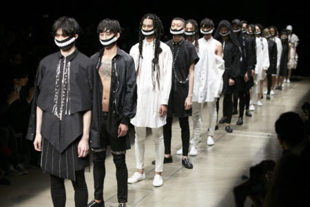 "ACUOD by CHANU ""CHANWOO LEE "" SS17 Collection presented at Amazon fashion week Tokyo."