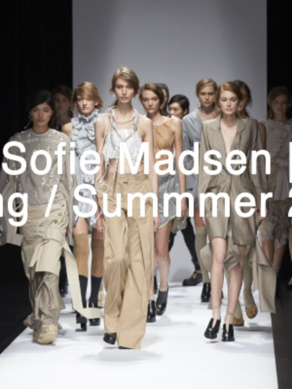 A sense of duality- The Anne Sofie Madsen Spring/ Summer 2017 Collection