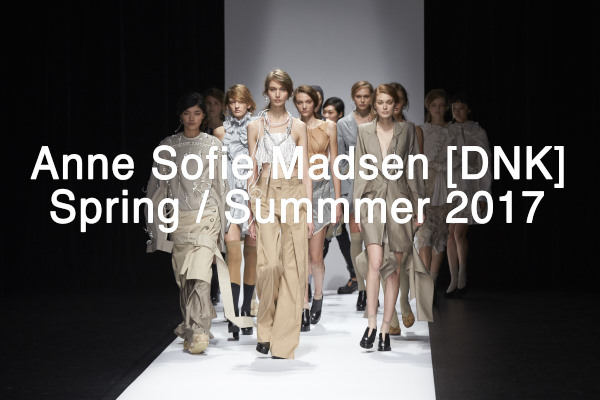Anne Sofie Madsen Spring/ Summer 2017 Collection