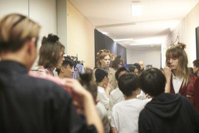 Backstage, Fashion week Tokyo, JFW, Menswear, Plastic Tokyo