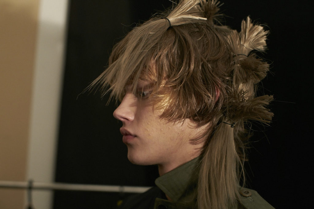 Backstage, Fashion week Tokyo, JFW, Menswear, Plastic Tokyo, hair and makeup