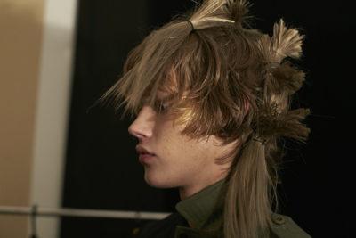 Backstage, Fashion week Tokyo, JFW, Menswear, Plastic Tokyo, hair and makeup