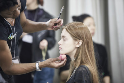 BackStage Anne Sofie, behind the scenes, beauty coverage, make-up and hair, image Akin Abayomi, Livingfash magazine
