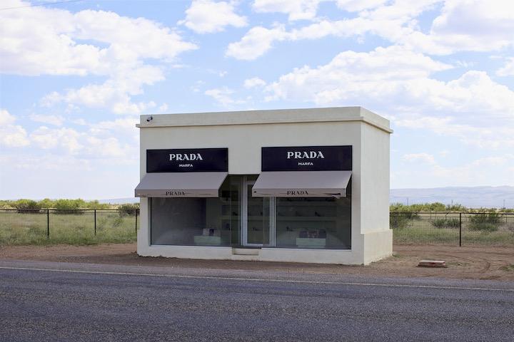 Prada Store, Marfa Texas by Akin Abayomi for Livingfash