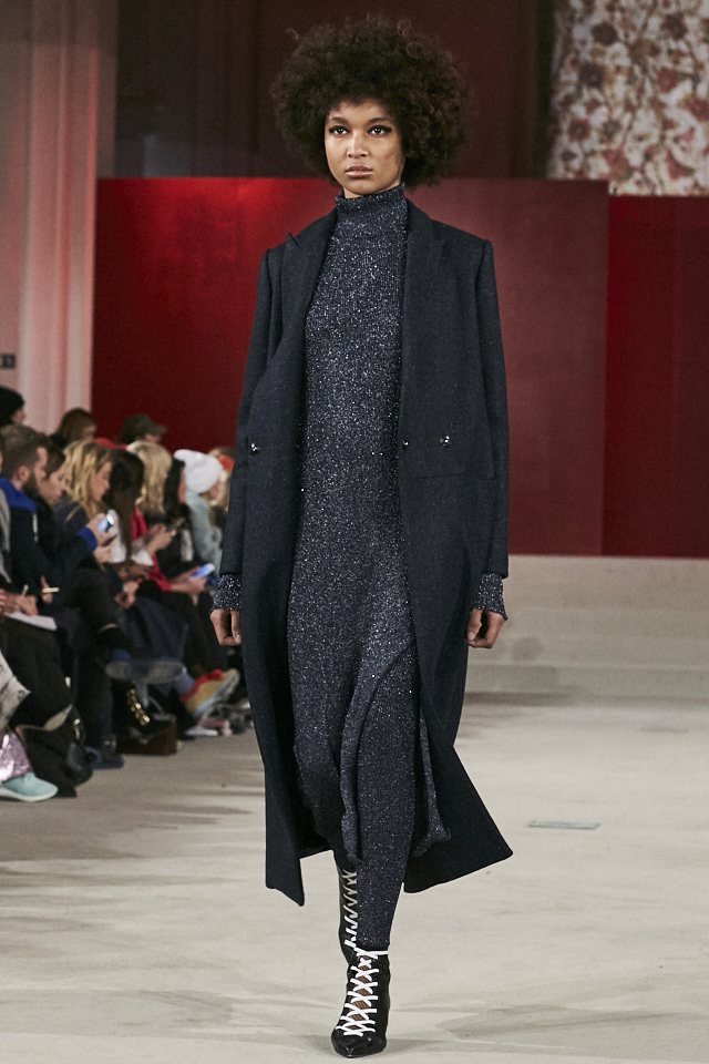 Lala Berlin AW2017 Collection Runway during Copenhagen Fashion week. Image credit Akin Abayomi, Livingfash media.