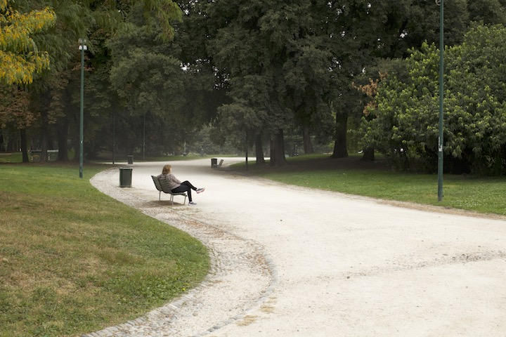 park in milan, image by akin abayomi for Livingfash