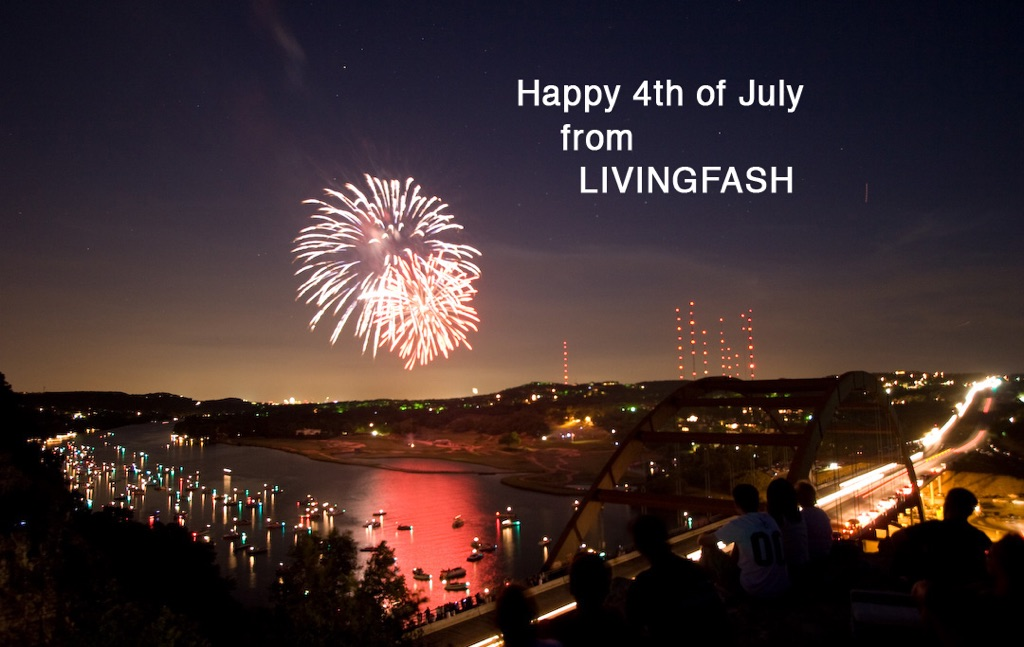 Happy 4th of July celebration fireworks, image by Akin Abayomi. Livingfash magazine