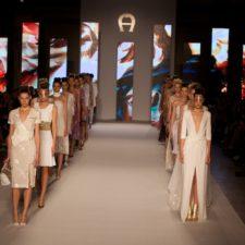 Aigner Fashion Show invitation,