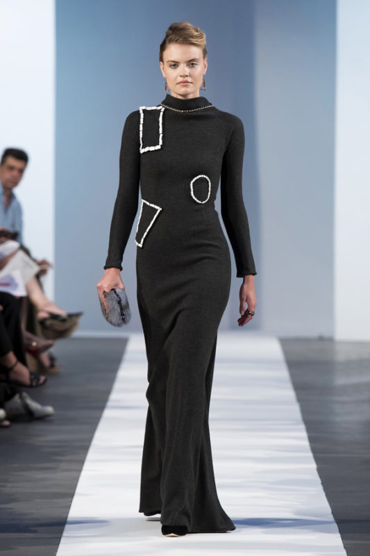 Greek designer Laskaris, Couture Week, 17/18