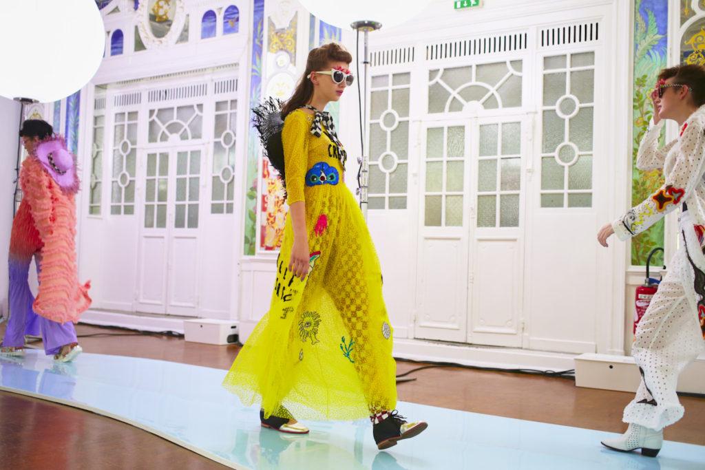 Tsumori Chisato SS18 Collection Presented at Paris Fashion Week Image by Akin Abayomi