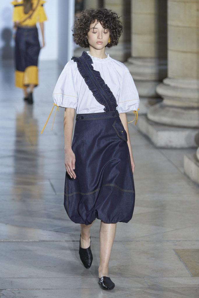 Moon J SS18 Collection Presented at Paris Fashion week. Image by Akin Abayomi