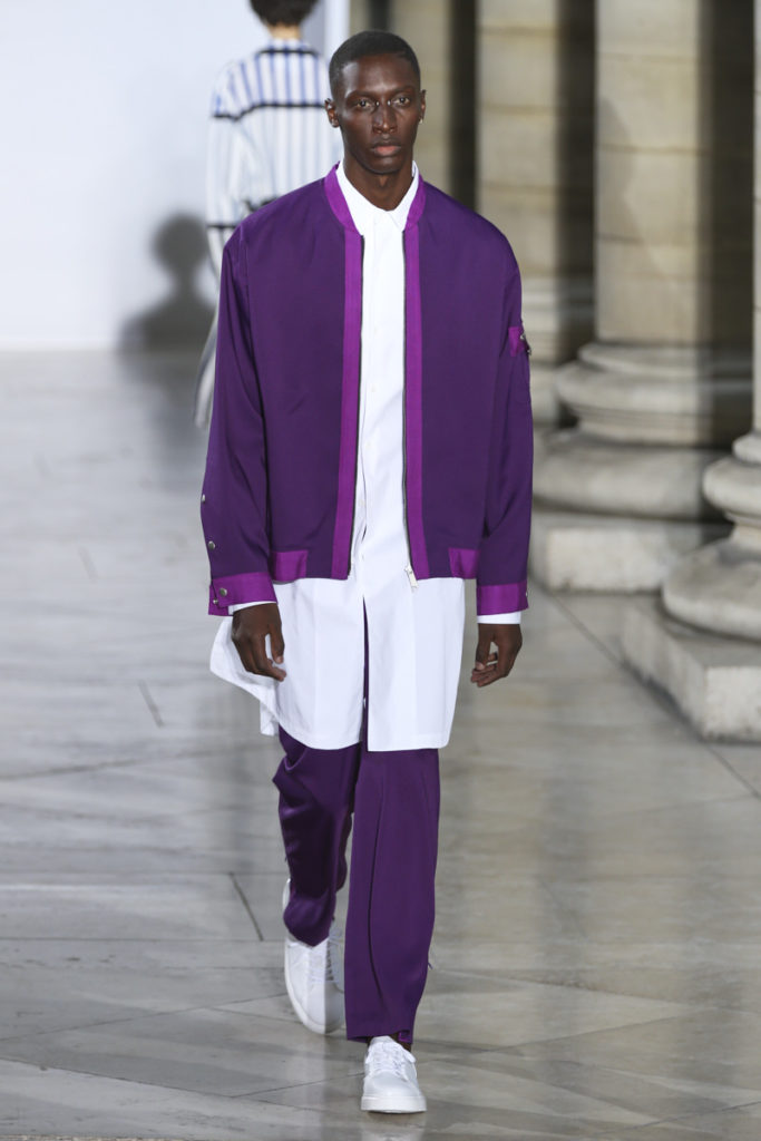 GENERAL IDEA collection Presented at Paris Fashion Week. Image by Akin Abayomi