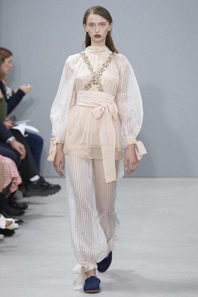 Nobi Talai SS18 Collection presented at Paris fashion week. Image by Akin Abayomi