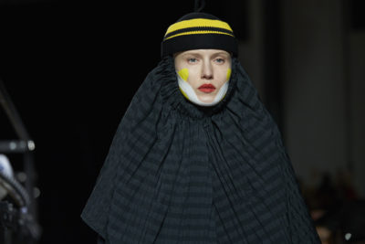 "HENRIK VIBSKOV AW2018 COLLECTION ""Please Analyze Volumize Moisturize Me"" image by Akin Abayomi"