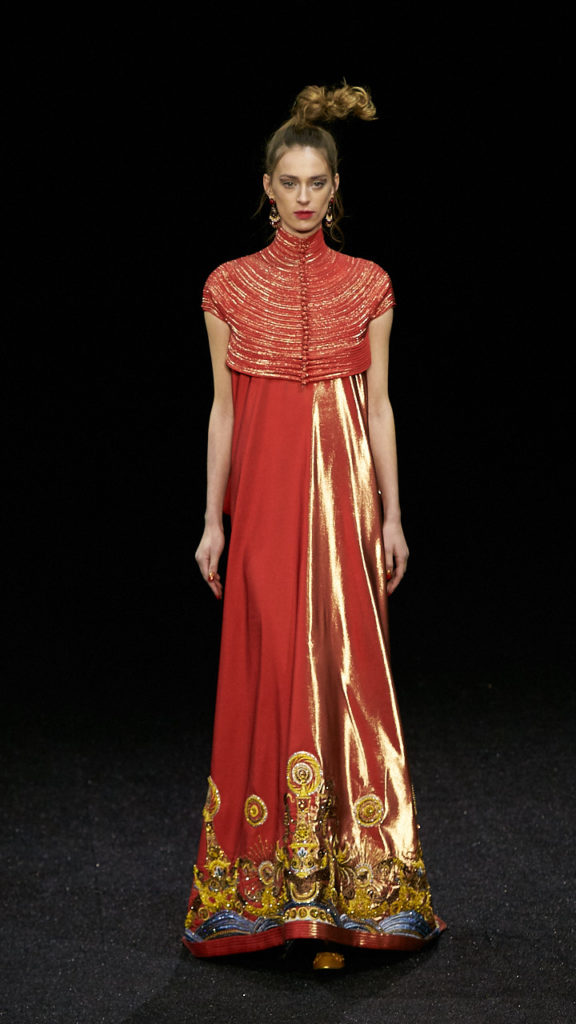 Guo Pei couture collection, image by akin abayomi, livingfash