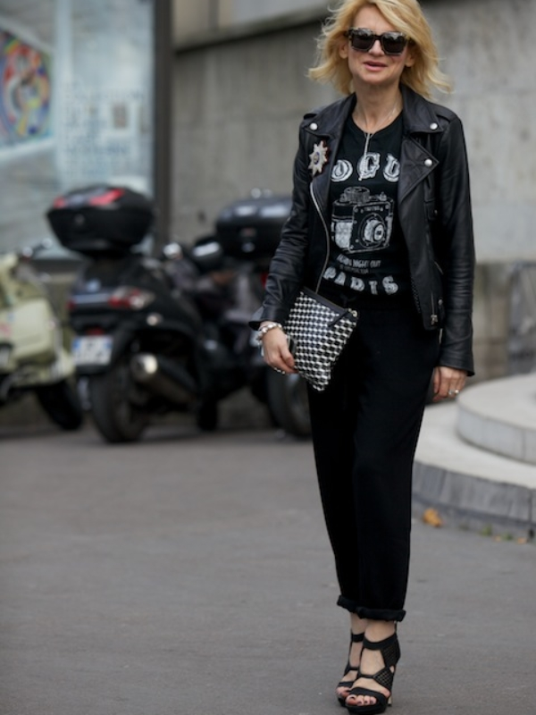 Street fashion in Paris